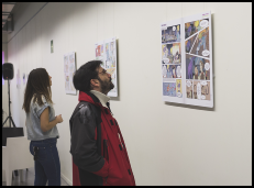 nanoKOMIK exhibition at the Carlos Santamaría Center